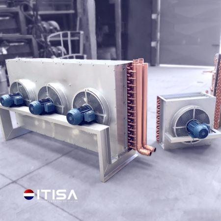 Condenzadores con ventilador ITISA