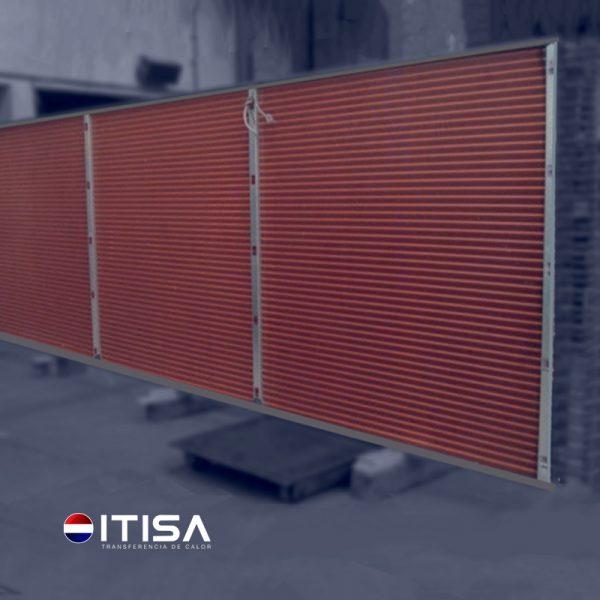 Evaporadores y condensadores radiadores industriales ITISA