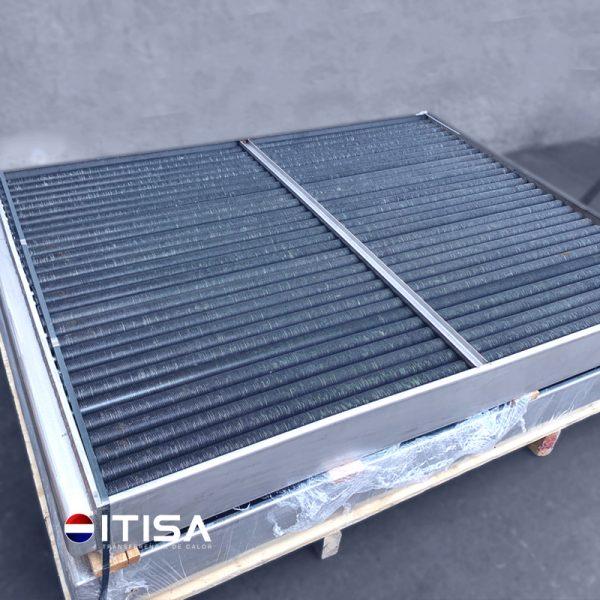 Radiador de acero inoxidable con aleta de cobre ITISA MEXICO 2
